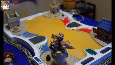 《炉石传说》玩家自制超大精美棋盘