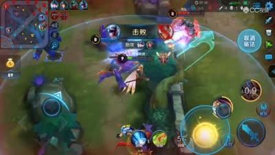 杨戬被救三次神级队友配合完美越塔
